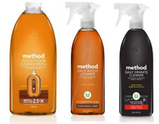 Method Cleaning Products Daily Wood, Granite, Floor, Glass & Surface Cleaners ✔️