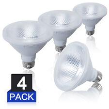 LED Bulbs Par30 Short Neck 2700K Soft Warm White Spotlight  Lamp 120V E26 4Pack
