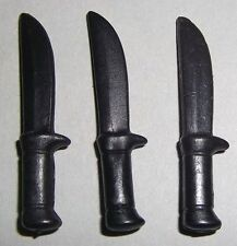 25711 Cuchillo negro 3u playmobil,knife,medieval