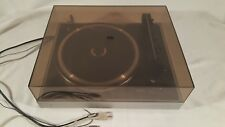 Vintage Philips Automatic 406 Turntable DC Servo Belt Drive Record Player German