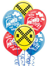Thomas The Tank Engine Party Supplies LATEX BALLOONS Pack Of 6