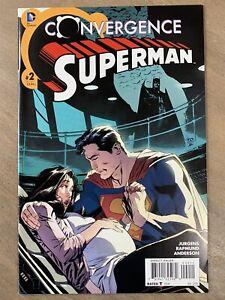 DC Comic Book: Convergence Superman #2 1st App of Jonathan Kent - Gemini Mailer