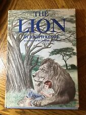 The Lion by Joesph Kessel, 1962, First Borzoi Illustrated Edition, Hardback