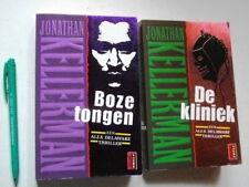 2 x Jonathan KELLERMAN : 2 Alex Delaware-thrillers : De Kliniek + Boze Tongen