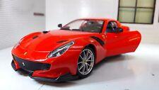 Ferrari F12 TDF Año 2016 rojo 1 24 Bburago