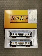 + Mth O Gauge RailKing Mlb Chicago White Sox 3200 Series 2-Car Subway Set w Ps.2