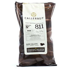 CALLEBAUT BELGIAN DARK CHOCLATE CHIPS (CALLETS) - 100 GM For Cake, Cookies