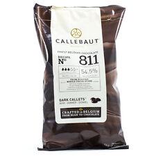 CALLEBAUT BELGIAN DARK CHOCLATE CHIPS (CALLETS) - 200 GM For Cake, Cookies