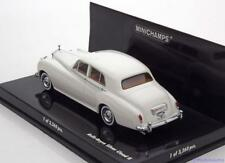 ROLLS ROYCE SILVER CLOUD II WHITE 1960 MINICHAMPS 436134900 1/43 WEISS BIANCA