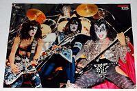 KISS 1979 Dynasty Concert Collage Poster Bravo Magazine Centerfold Aucoin Gene