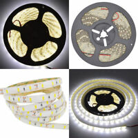 EK Natural White 4000K-4500K 5630 300LEDs 5M 16Ft Waterproof LED Lights Strip US
