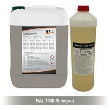 BTT-BI 2K Bodenbeschichtung farbig 5 kg Epoxidharz, RAL 7030, bis zu 25m²