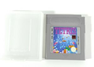 Tetris Nintendo Gameboy Game Cart Only + Genuine Nintendo Carry Case PAL UK UKV