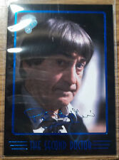 2nd Doctor Who Cornerstone Series 4 Blue Foil Signature Chase Trading Card