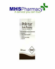POLYTAR SHAMPOO PSORIASIS FOR ITCHING SCALP DANDRUFF TAR 4%
