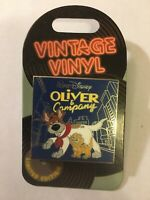 Disney Oliver & Company Vintage Vinyl Record Roger Pin of Month 2019 Pin LE 3000