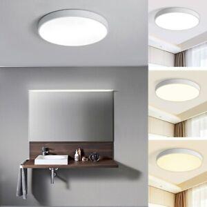 18W-48W Ultraslim LED Lampe Leuchte Deckenlampe Deckenleuchte Rund Weiß Dimmbar