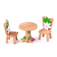 DIY Miniature Fairy Garden Ornament Decor Pot Craft Accessories Dollhouse Decor