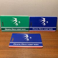 Collectible Ozark Airlines Unused Plastic Baggage Tags