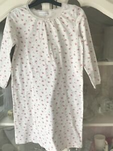 Beautiful Girls Age 7-8 Years The Little White Company London Floral Nightdress