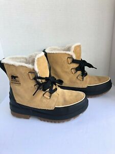 Sorel Women Tivoli IV Boot Curry Sand  Snow winter Boots Sz 10