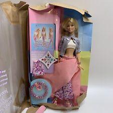 Vintage 2000 Jewel Girl Barbie Mattel New in Damaged Box