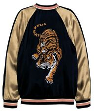 """13"""" HUNTING TIGER MUAY THAI BOXING K1 MMA UFC FIGHTER BACK TATTOO SEW ON PATCH"""