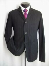 Our Legacy Gray Striped 3 Buttons Wool & Viscose Blend Coat Jacket Size 36 S