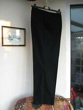 20R  NEXT Ultimate black cigarette cotton trousers  vgc