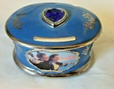 """Titanic Heirloom Porclein Music Box """"My Heart Will Go On� A1619 1st 1998 99"""