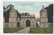 Burghley Lodge, Stamford Postcard, B092
