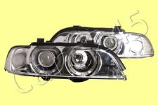 Headlights Front Lamps PAIR Fits BMW E39 2000-2004