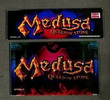 Spielo Aura Slot Machine Set of Glass for MEDUSA QUEEN OF STONE