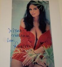 LANA WOOD /  BUSTY  8 X 10  COLOR  AUTOGRAPHED  PHOTO
