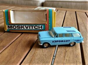 """USSR Soviet Moskvitch 426 1:43 """"Aeroflot"""" - Free Priority Shipping Within USA"""