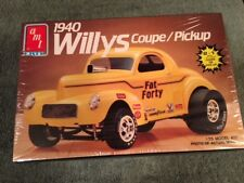 AMT 6544 1940 WILLYS COUPE / PICKUP 1/25 SCALE MODEL KIT FS