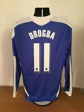 Chelsea Home Shirt 2011/12 *DROGBA 11* Medium *Champions League Winners*