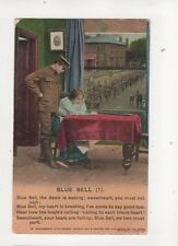 Blue Bell WW1 Bamforth 4780/1 Patrotic Song Postcard 379b