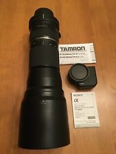 Tamron SP A011 150-600mm f/5-6.3 Di USD Lens For Sony + Sony LA-Ea4 Adapter