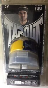 TAPOUT 2 Pack + Case PRO Boil + Bite Mouthguards All Sports QUALITY FREE POST