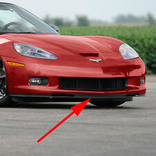 Front Chin Spoiler (2006-2013 C6 Corvette) Z06 Grand Sport - 2 Piece Direct Fit