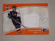 Peter Forsberg Upper Deck match worn jersey card/SWEDEN/Flyers/Avalanche