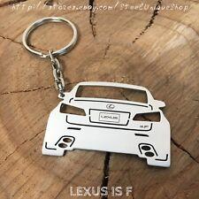 Lexus ISF Rear Stainless Steel Keychain