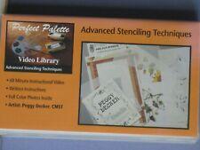 Perfect Palette Video Library, Peggy Decker - Advanced Stenciling Techniques