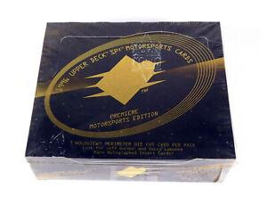 1996 Upper Deck SPx Motorsports Racing Hobby Box (20 Packs)
