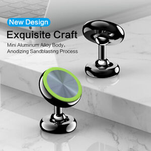 360° Magnetic Car Phone Holder Mount Dashboard Stand For iPhone 12 11 Cell Phone