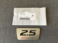 Subaru Genuine 2.5 STI Alternator Belt Cover Emblem Badge for Forester STI