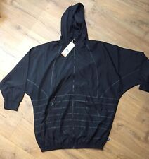 adidas Windbreaker Black Originals jacket RRP £78 Size 12