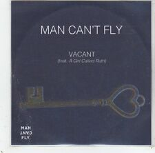 (GC817) Man Can't Fly, Vacant ft A Girl Called Ruth - DJ CD