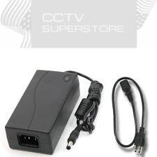 Power Adapter Supply 12V Plug Cord 4A for CCTV Security Camera DVR Surveillance